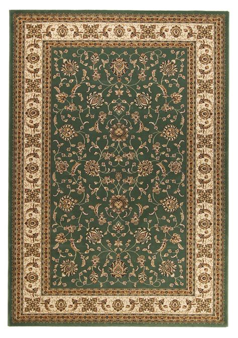 Buy Brilliant 620 Green Traditional Rug Rugspot Traditional Rug