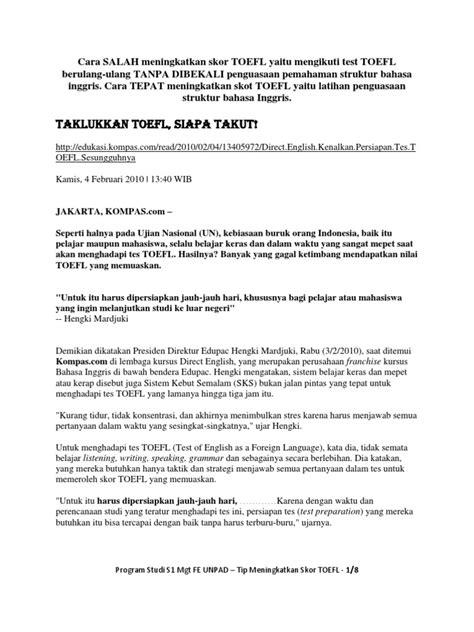 struktur biography bahasa inggris mgt tip belajar toefl