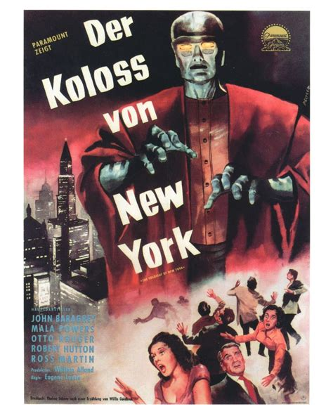 ghost film new york 52 best the colossus of new york 1958 images on