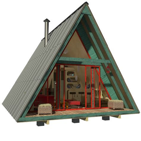 A Frame Floor Plans by A Frame Tiny House Plans