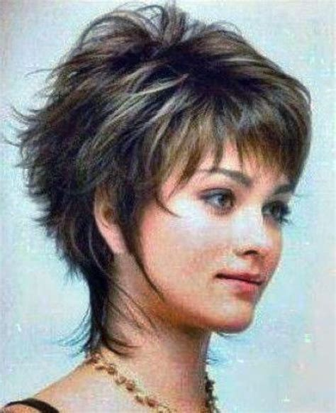 short shaggy hairstyles for wavy hair heavy women hairstyles pixie cuts short shag haircuts