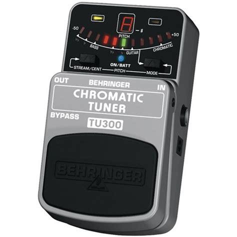 Behringer Tu300 Bass Guitar Tuner Effects Pedal behringer tu300 chromatic guitar bass tuner guitar
