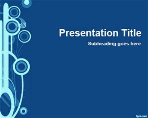 Blue Slide Powerpoint Design Bestppts Design For Microsoft Powerpoint