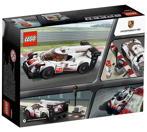 lego porsche box lego speed chions porsche 919 hybrid 75887 box