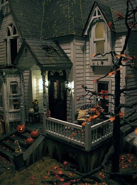 halloween doll house haunted dolls dollhouses and miniatures for halloween diary of a dollhouse