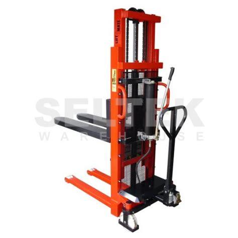 Liftrer Stacker Manual 1000 1000kg heavy duty manual pallet stackers lmg vvrs x