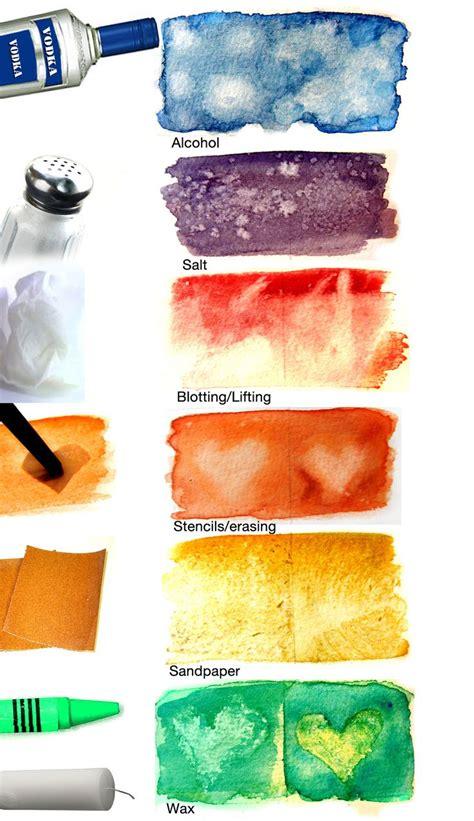 design inspiration watercolor watercolour texture techniques design inspiration