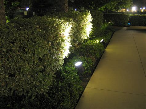 lights on landscape ledtronics led spotlights improve landscape lighting efficiency in master planned community 73