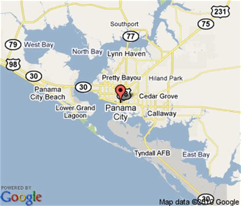 panama city florida on map of florida hotels find hotel deals near