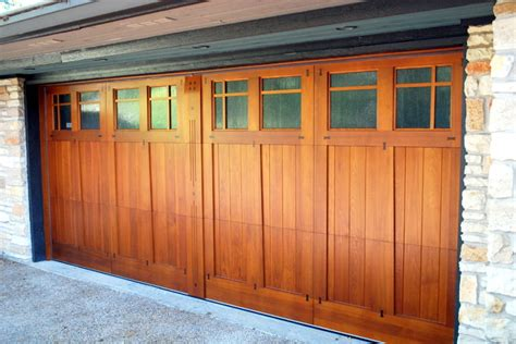 Barn Style Garage by Cowart Door Craftsman Style Garage Door Craftsman