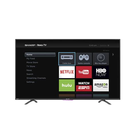 Tv Led Sharp 43 Inch Sharp 43 Quot 60hz Smart Roku Led Tv Energy Tvs Electronics Televisions Led Tvs