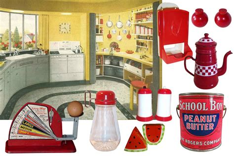 vintage kitchen collectibles decorate your retro kitchen with ruby ruby