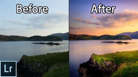 cara edit foto on the spot cara mengedit foto sunset dengan adobe lightroom versi