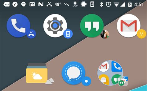 android notification badges launcher 5 1 beta adds dynamic icons that pull badges from notification content
