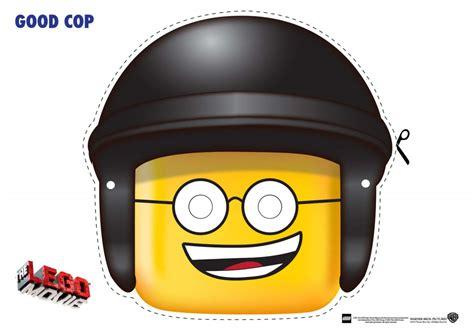 printable unikitty mask good cop mask