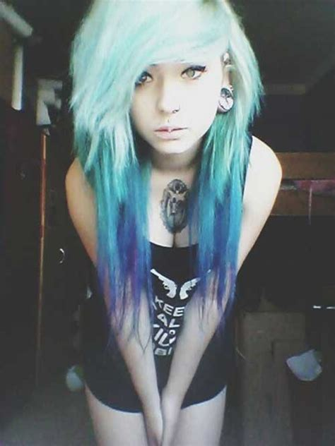 emo hairstyles and colors 15 different hair color long hairstyles 2016 2017