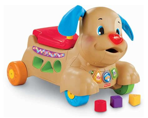 fisher price puppy walker fisher price laugh learn stride to ride puppy toys