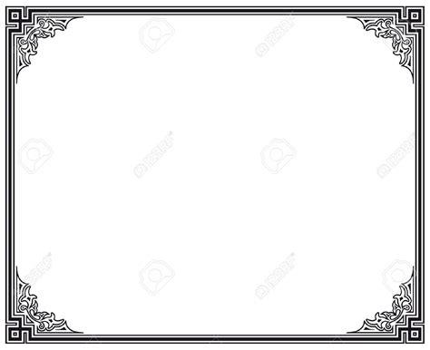 cornici bianco e nero cornici clipart bianco e nero