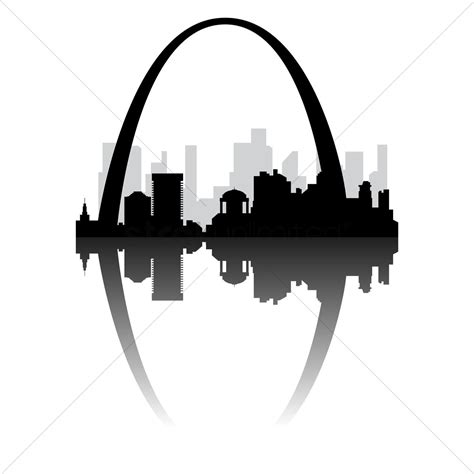 arch clipart gateway arch vector image 1472283 stockunlimited