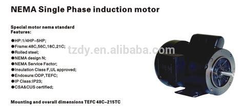 induction motor fan design 1 4 hp 5hp nema single phase motors from taizhou dongye electric motor co ltd 3795737 on