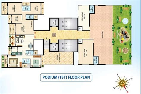 podium floor plan rsm life spaces llp rsm diamond ulwe navi mumbai on