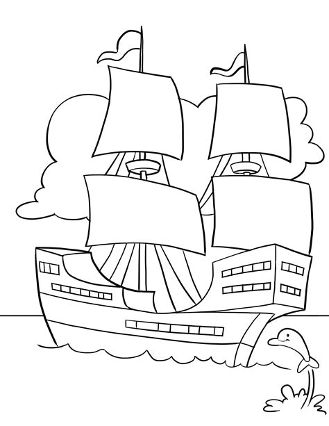 mayflower coloring pages only coloring pages