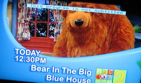 bear in the big blue house rubygoes flickr