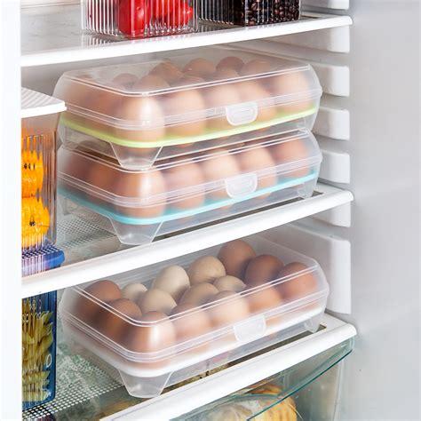 Portable Circle 7 Grid Small Boxes 15 grid refrigerator egg box plastic boxes portable plastic eggs storage box 3 pieces lot
