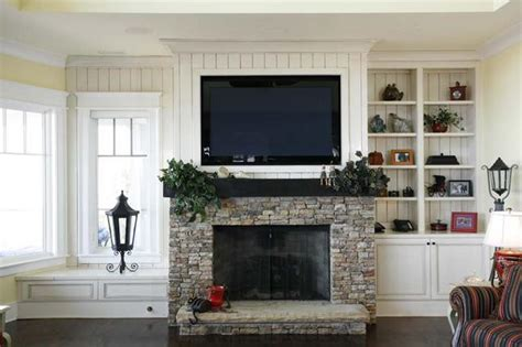 Tv Above Fireplace Mantel by Should I Install Tv Fireplace A
