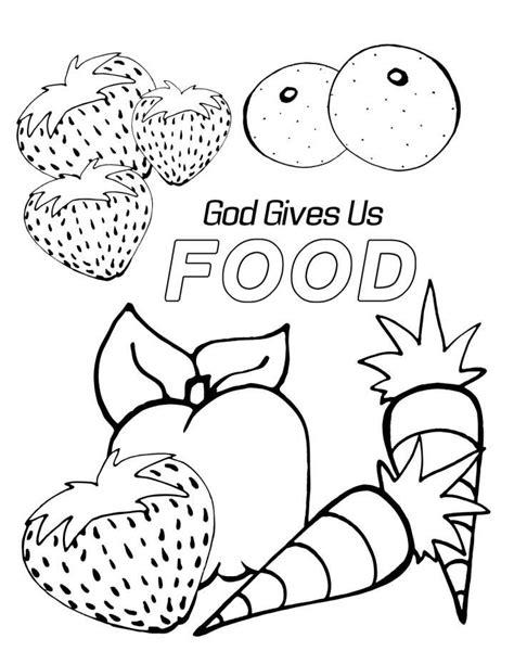 food coloring page pdf preschool bible lessons coloring pages good az