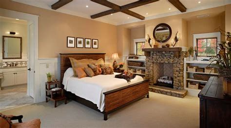 bedroom with fireplace 34 beautiful stone fireplaces that rock