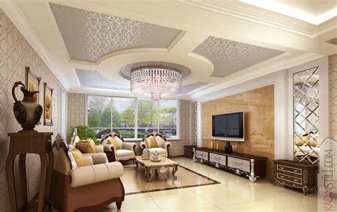 design interior rumah classic asma tavan modelleri elzade
