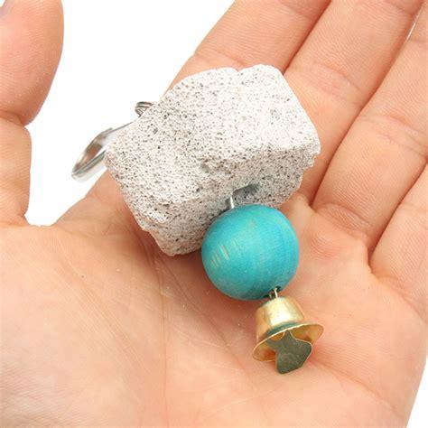 bocca di gabbia pappagallo bocca stridente bocca gabbia pietra giocattolo