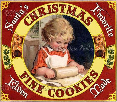 wwwgooglecom beautiful vintage christmas cookies cookies vintage label tag digital printable