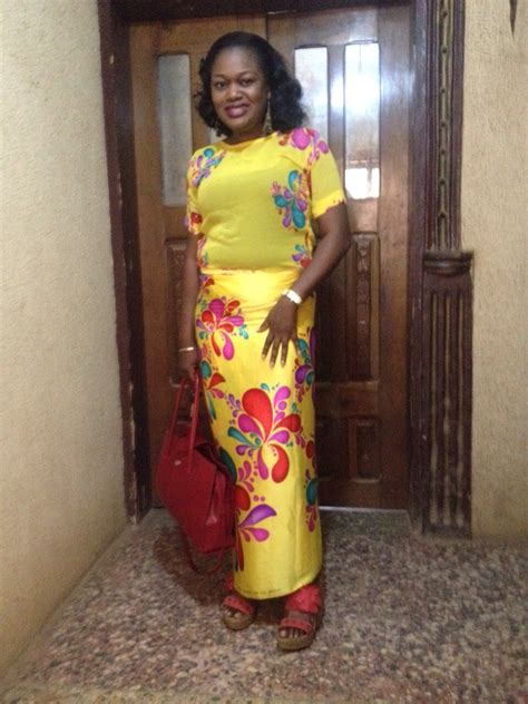 yellow fitted buba colors the aso ebi junkie