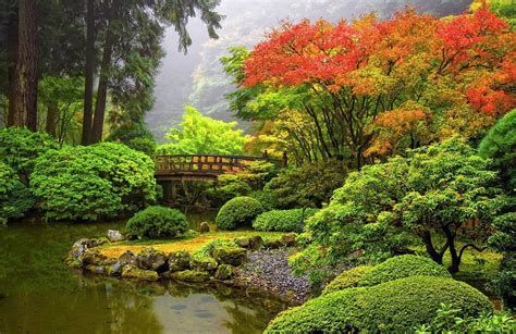 Portland Gardens by Japanese Garden Portland Oregon Beautiful