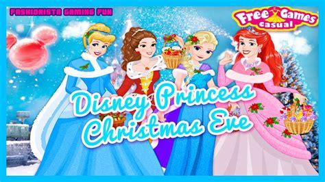 Disney Princess Christmas Eve- Fun Online Fashion Dress Up ... Kids Games For Girls Disney Free Online