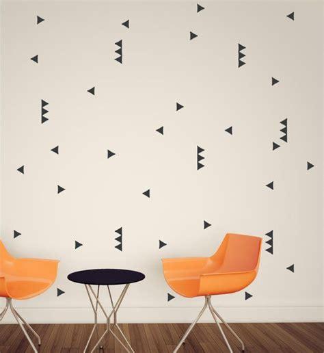 triangle pattern on wall wall pattern triangle wallpaper vinyl decor wall lettering