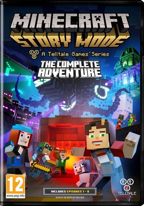 Kaset Ps4 Minecraft Story Mode The Complete Adventure minecraft story mode the complete adventure pc kopen