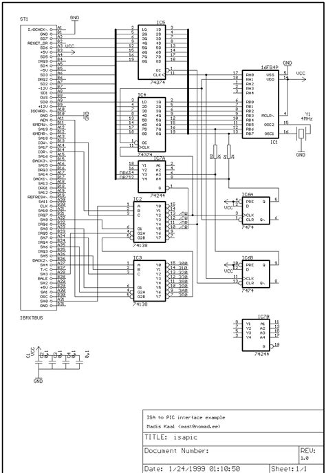 microcontroller based electronic circuit diagrams