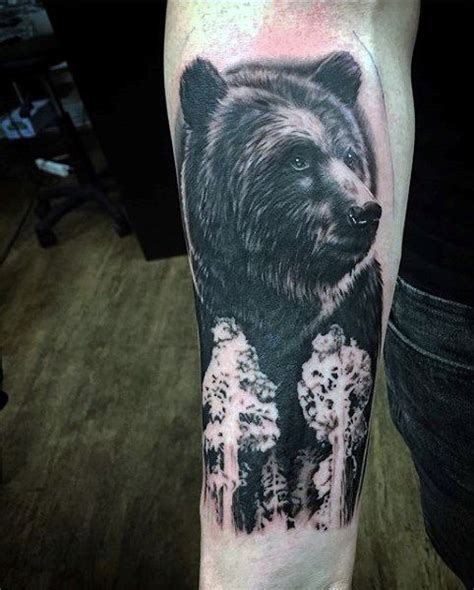 black bear tattoo tattoos for ideas and inspiration for guys