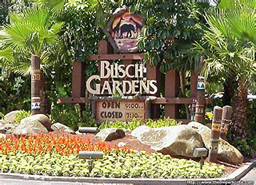 Bush Garden Florida by Nearby Attraction In Citrus County And Florida
