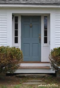front door color dear lillie jason s new front door color