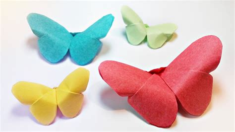 Easy Origami Butterfly Step By Step - how to make paper origami butterfly easy step by step for