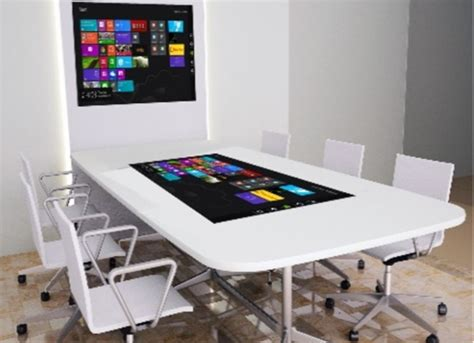 Touch Screen Conference Table Meeting Room Touchscreen Table Boardroom Touch Table