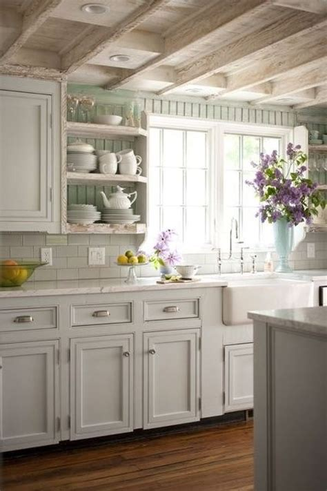 Country Chic Kitchen by 52 Ways Incorporate Shabby Chic Style Into Every Room In Your Home