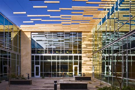 office courtyard design a n blog page floats a cedar sunshade in albuquerque