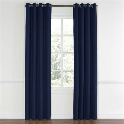 Blue Grommet Curtains Best 25 Navy Blue Curtains Ideas On Blue And White Curtains Navy And White