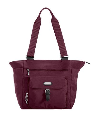 Tote Your To Town by Baggallini Town Tote Mulberry One Size Bags Central