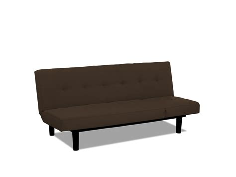 lounger sofa bed mini lounger convertible sofa bed brown by serta lifestyle